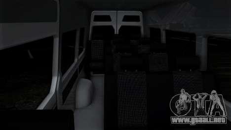 Mercedes-Benz Sprinter para el motor de GTA San Andreas