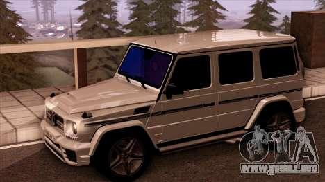 Mercedes-Benz G65 para la visión correcta GTA San Andreas
