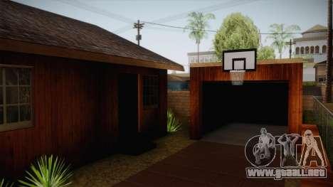 New Big Smoke House para GTA San Andreas tercera pantalla