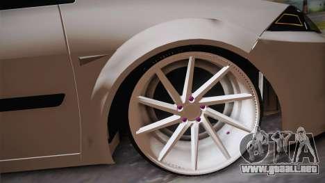 Renault Megan para la visión correcta GTA San Andreas