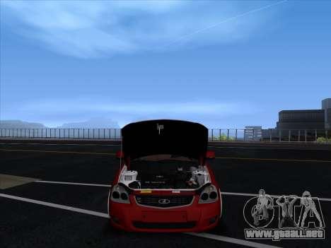 VAZ 2170 STANCE para visión interna GTA San Andreas
