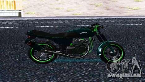 Jawa 350 638 Sports para GTA San Andreas left