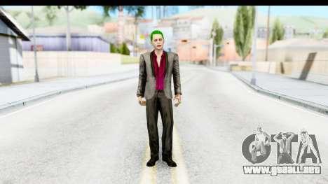 Suicide Squad - Joker v2 para GTA San Andreas segunda pantalla