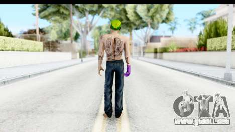 Suicide Squad - Joker v1 para GTA San Andreas tercera pantalla