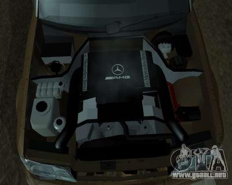 Mersedes-Benz E-500 Armenian para el motor de GTA San Andreas