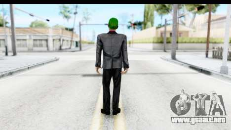 Suicide Squad - Joker v2 para GTA San Andreas tercera pantalla