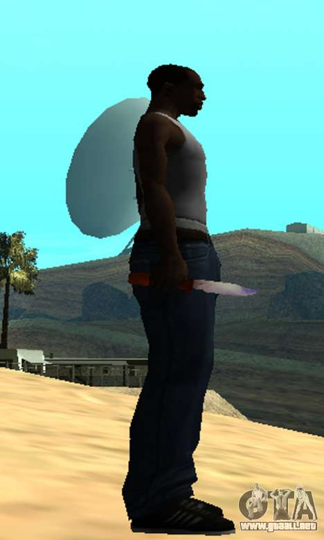 Common Knife para GTA San Andreas tercera pantalla