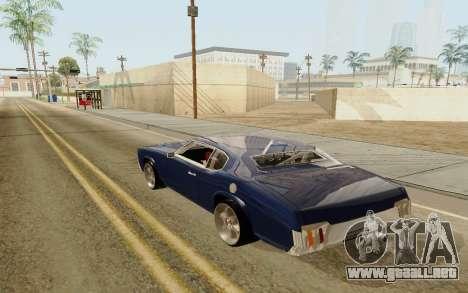 HD Sabre Greedy para GTA San Andreas left