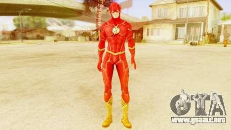 Injustice God Among Us Flash New 52 Edited Model para GTA San Andreas segunda pantalla