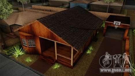 New Big Smoke House para GTA San Andreas segunda pantalla