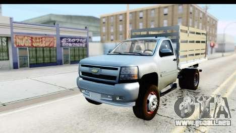 Chevrolet Silverado 2011 para GTA San Andreas