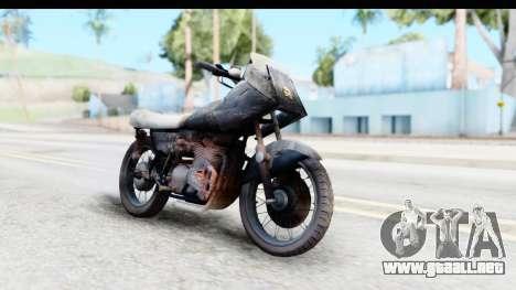 Kawasaki KZ900 1973 Mad Max 2 para la visión correcta GTA San Andreas