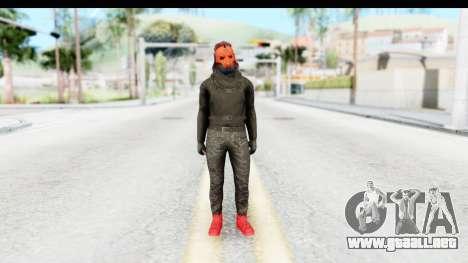 Skin Random 4 from GTA 5 Online para GTA San Andreas segunda pantalla