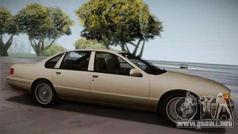 Declasse Premier 1992 SA Style para GTA San Andreas left