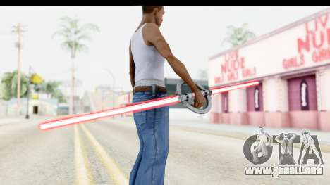 Inquisitor Lightsaber v1 para GTA San Andreas tercera pantalla