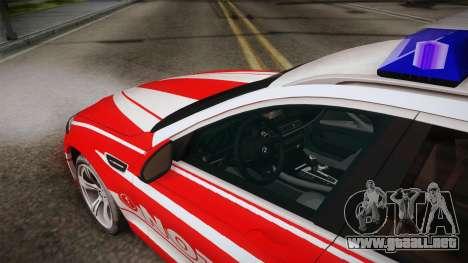 BMW M5 Touring NEF para visión interna GTA San Andreas