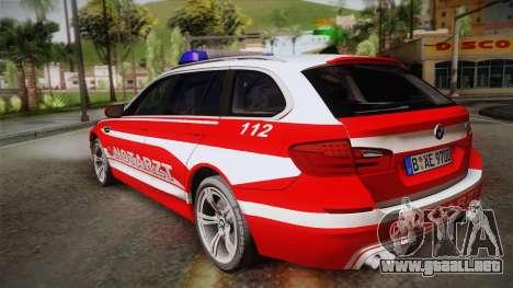 BMW M5 Touring NEF para GTA San Andreas left