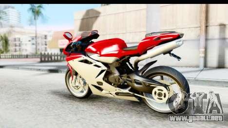 MV Agusta F4 para GTA San Andreas left