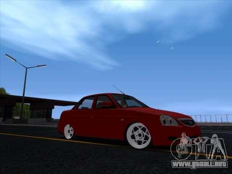 VAZ 2170 STANCE para GTA San Andreas left