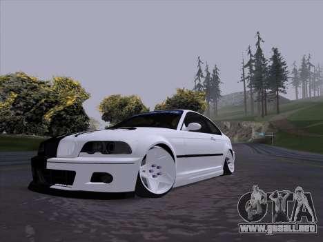 BMW E46 Good and Evil para GTA San Andreas left