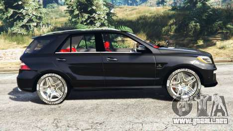 Mercedes-Benz ML63 AMG (W166) 2015 [replace] para GTA 5