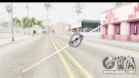 Inquisitor Lightsaber v2 para GTA San Andreas segunda pantalla