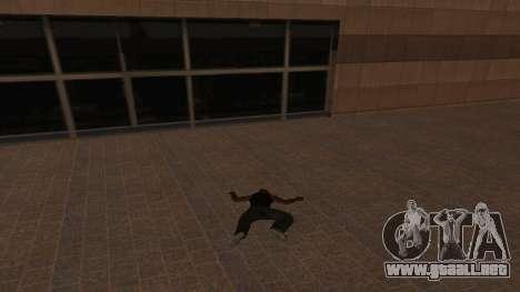 La inmortalidad CJ para GTA San Andreas tercera pantalla