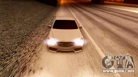Mercedes-Benz Е63 para visión interna GTA San Andreas