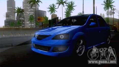Dacia Logan Cocalar Edition para la visión correcta GTA San Andreas