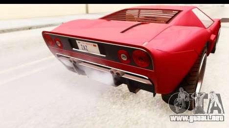 GTA 4 TboGT Bullet para visión interna GTA San Andreas