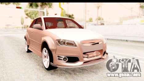 Audi S3 Slaam para GTA San Andreas