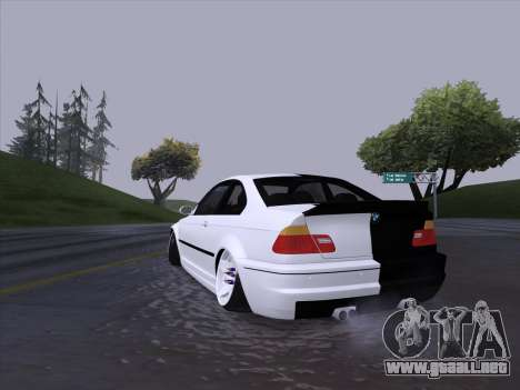 BMW E46 Good and Evil para la visión correcta GTA San Andreas