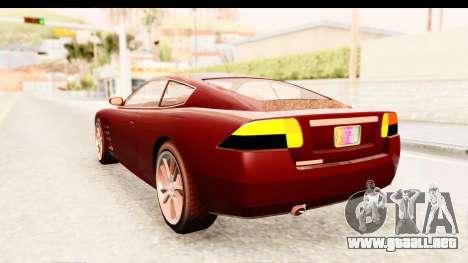 GTA EFLC TBoGT F620 v2 IVF para GTA San Andreas left