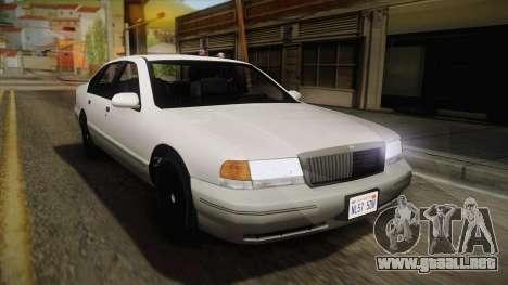 Willard Elegant IVF para GTA San Andreas