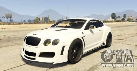 Undercover Bentley Continetal GT 1.0 para GTA 5