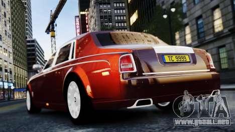 Rolls-Royce Phantom EWB 2013 para GTA 4 visión correcta