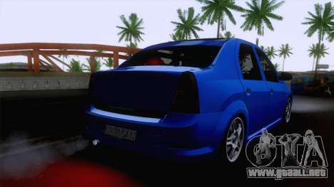 Dacia Logan Cocalar Edition para GTA San Andreas left
