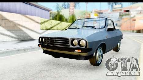 Dacia 1300 Sport Cabrio para la visión correcta GTA San Andreas