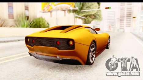 Lucra L148 2016 para GTA San Andreas left
