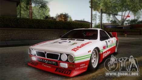 Lancia Rally 037 Stradale (SE037) 1982 IVF Dirt1 para las ruedas de GTA San Andreas