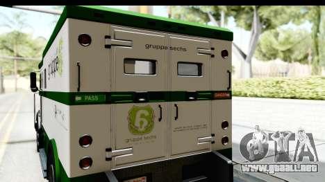 GTA 5 Stockade v2 para visión interna GTA San Andreas