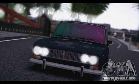 VAZ 2103 Retro para GTA San Andreas vista posterior izquierda