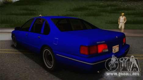 Declasse Premier 1992 IVF para GTA San Andreas left
