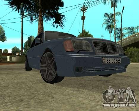 Mersedes-Benz E-500 Armenian para GTA San Andreas left