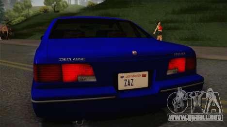 Declasse Premier 1992 IVF para la visión correcta GTA San Andreas