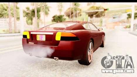 GTA EFLC TBoGT F620 v2 IVF para la visión correcta GTA San Andreas