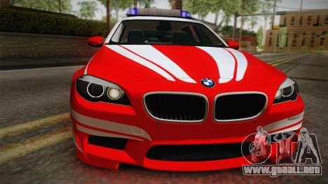 BMW M5 Touring NEF para la visión correcta GTA San Andreas