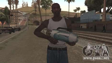 Spudgun from Bully SE para GTA San Andreas segunda pantalla