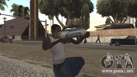 Spudgun from Bully SE para GTA San Andreas sucesivamente de pantalla