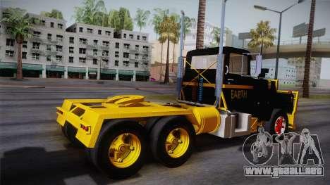 Mack R600 v1 para GTA San Andreas left